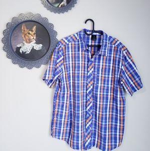 FIREFLY   Mens short sleeve button down shirt